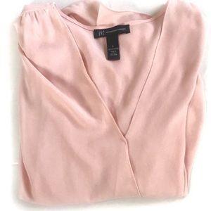 NWOT- INC Pink Blouse
